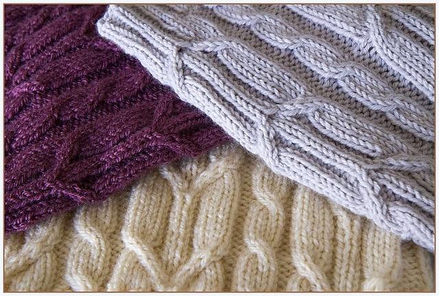 Knit Loose Pattern Spikelets