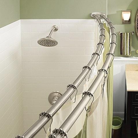 Ванная комната: 11. На дополнительную перекладину можно вешать полотенца кухня, хранения