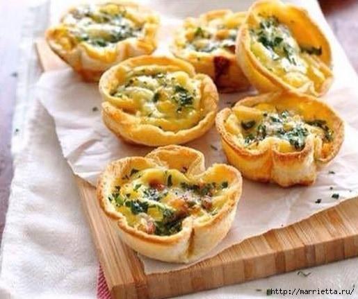 Завтрак за 5 мин. ХЛЕБНЫЕ ТАРТАЛЕТКИ (1) (515x431, 140Kb)