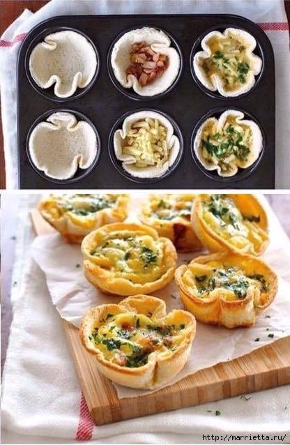 Завтрак за 5 мин. ХЛЕБНЫЕ ТАРТАЛЕТКИ (2) (416x638, 197Kb)