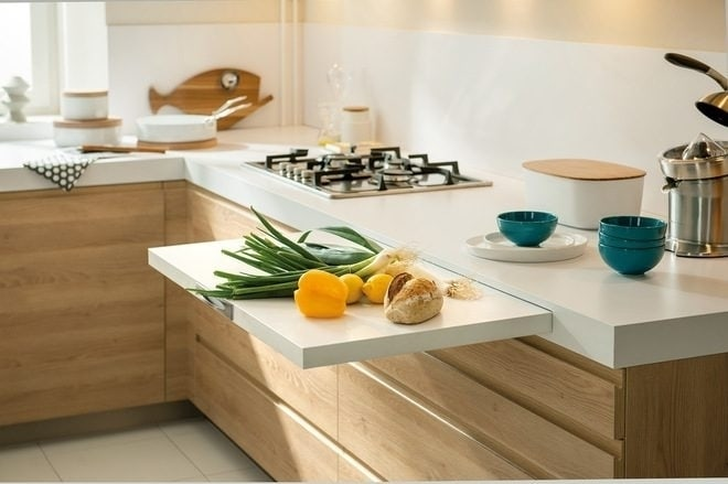 How to sit comfortably in a small kitchen