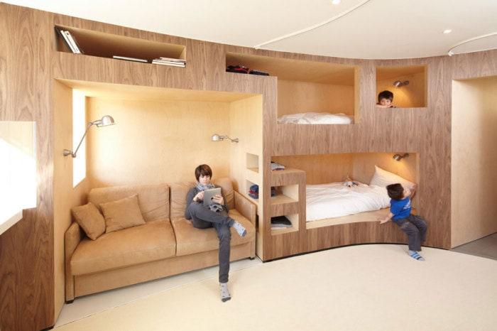 Инновационный спальный модуль.