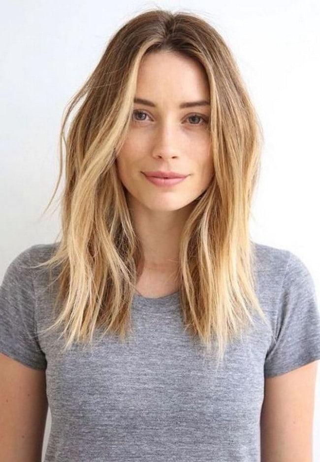 Светлые волосы фото до плеч
