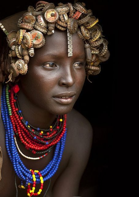 Beautiful African.
