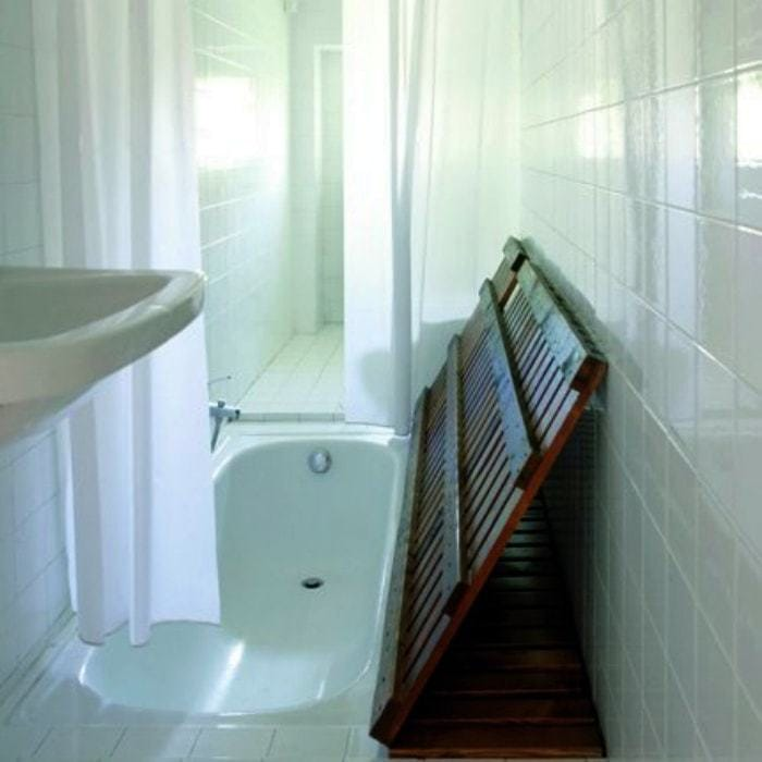Cover for built-in bath.