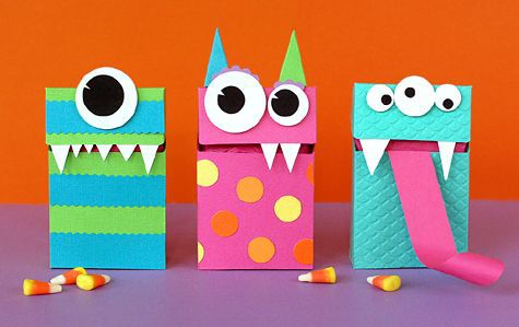 flip top monster boxes - Lisa Storms.. ~Love these!!~