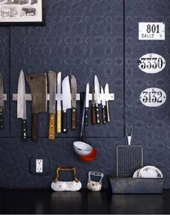 ножи на магнитной ленте