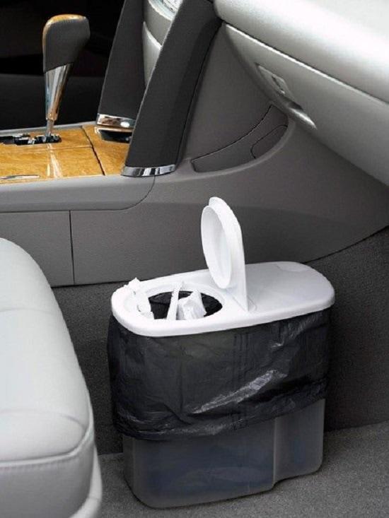 ведро для мусора в машине