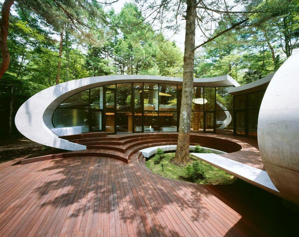 Архитектура в цветах: серый, белый, темно-зеленый, бежевый. Архитектура в .