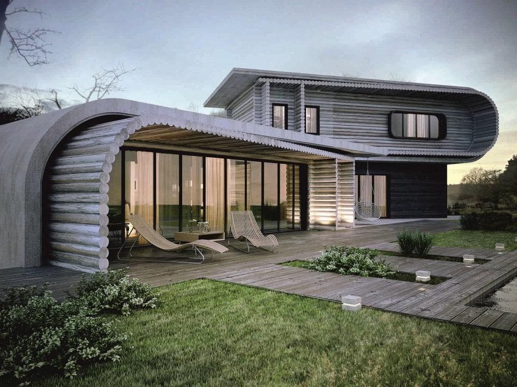 Архитектура в цветах: черный, серый, светло-серый, бежевый. Архитектура в .