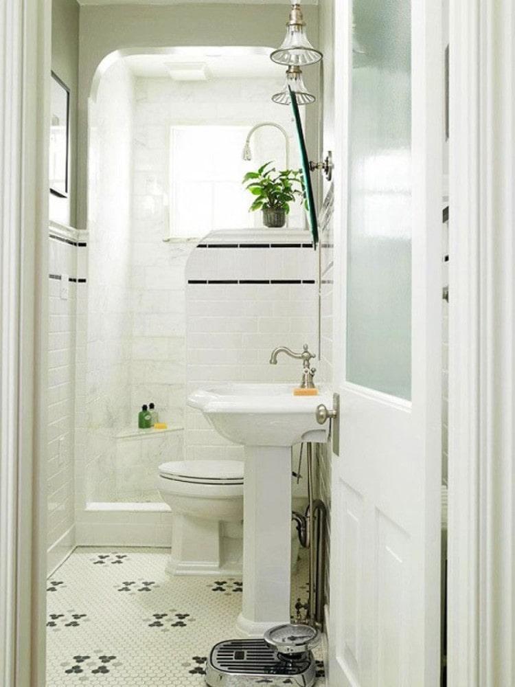 Туалет в цветах: серый, светло-серый, белый, бежевый. Туалет в .