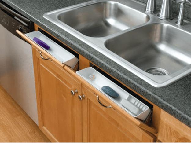 5. Дополнительные шкафчики перед раковиной кухня, хранения