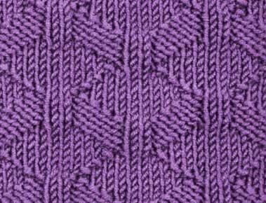 рельефный узор змейка