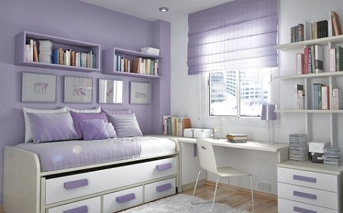 purple color room