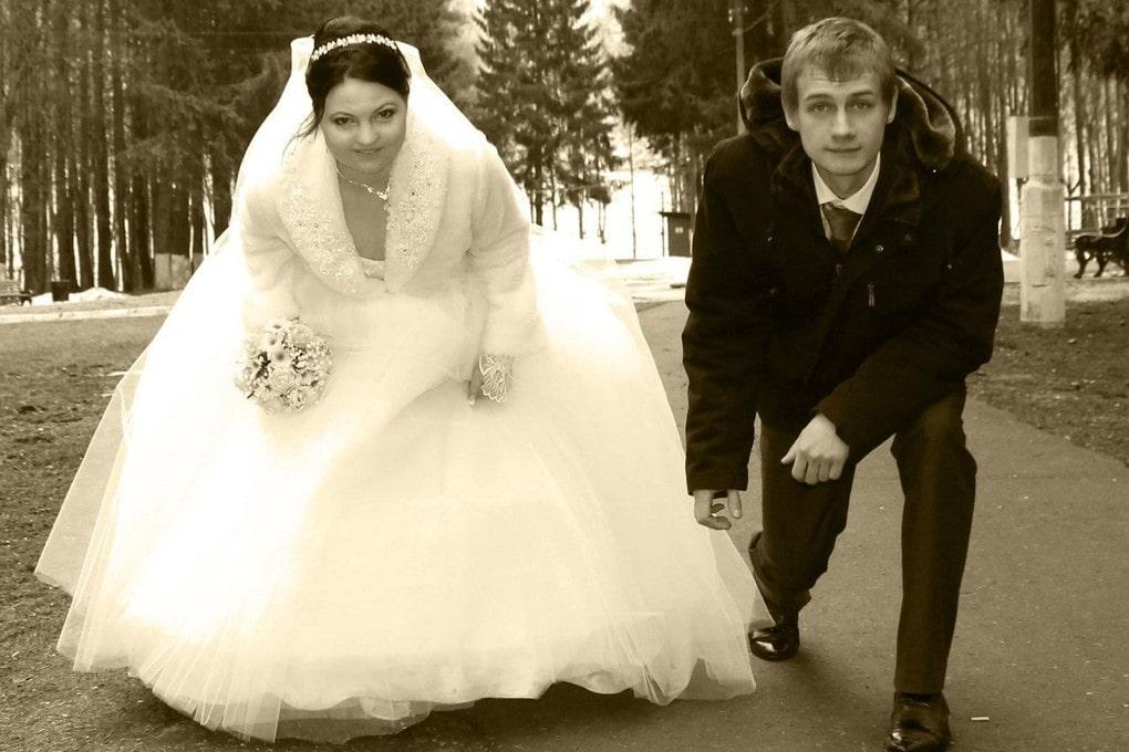 Просто фотограф очень маленького роста свадьба, фото, юмор