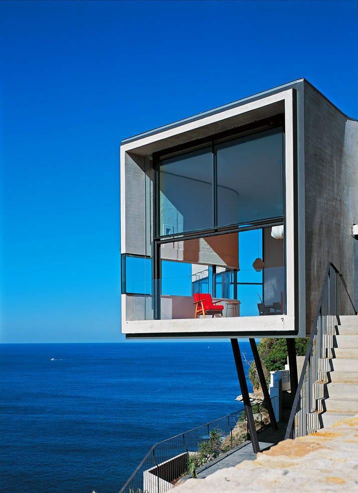 Архитектура в цветах: голубой, бирюзовый, серый. Архитектура в .