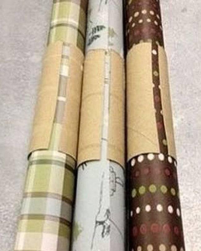 хранение упаковочной бумаги