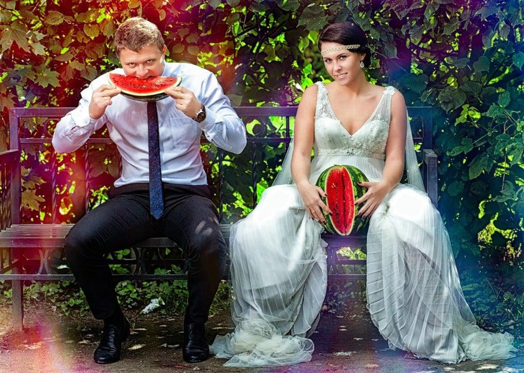 Женский арбузик сводит с ума! свадьба, фото, юмор