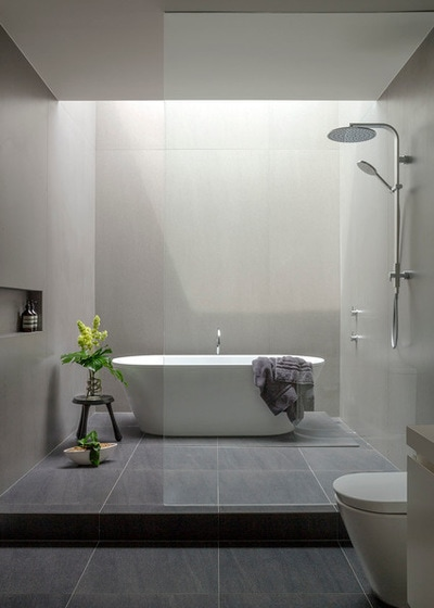 Modernism Bathroom by Tim Shaw - Impress Photography