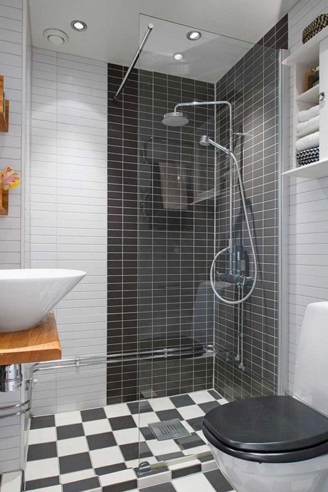 Туалет в цветах: серый, светло-серый, белый, коричневый, бежевый. Туалет в .