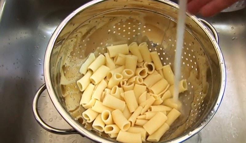 приготовление макарон