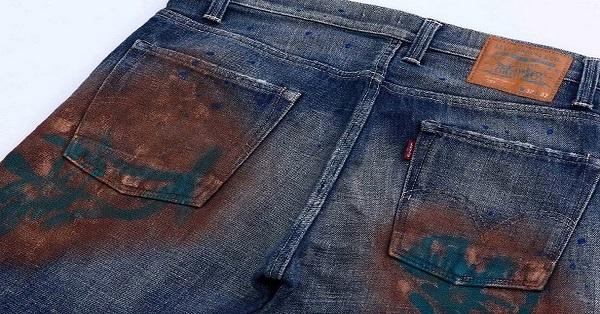 dirty pants
