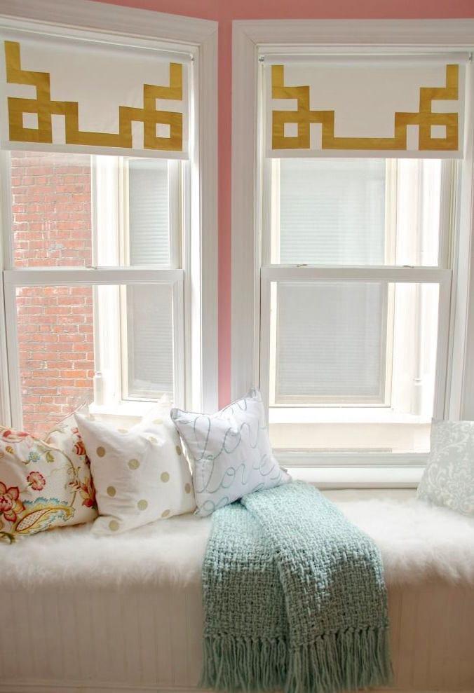 Спальня в цветах: желтый, серый, белый, бежевый. Спальня в .