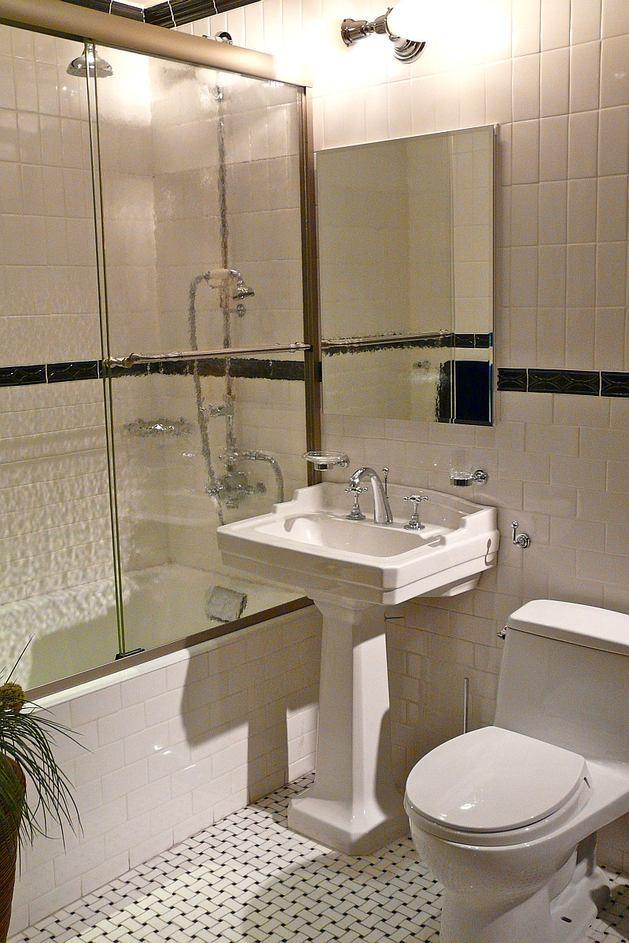 Toilet in colors: gray, light gray, beige. Toilet c.