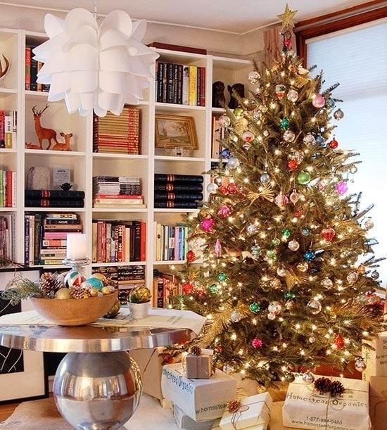 Винтажная новогодняя елка