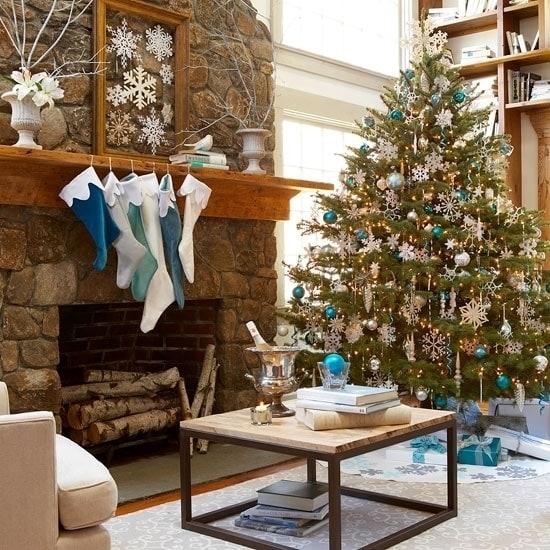 Лесная новогодняя елка