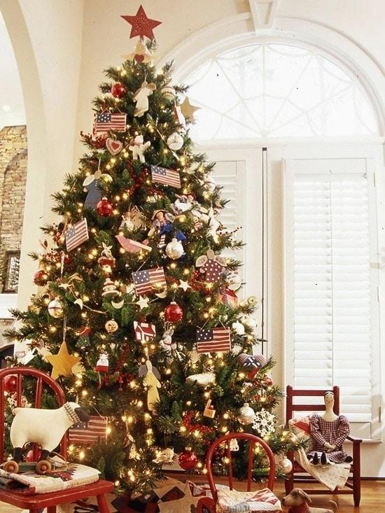 Американская новогодняя елка