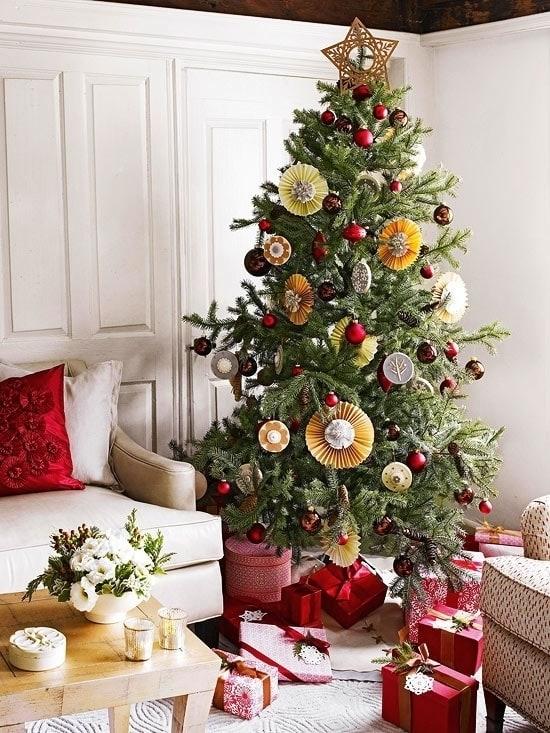 Искусная новогодняя елка