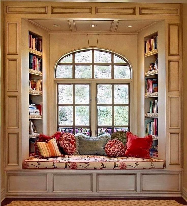 Библиотека в цветах: серый, светло-серый, белый, коричневый, бежевый. Библиотека в .