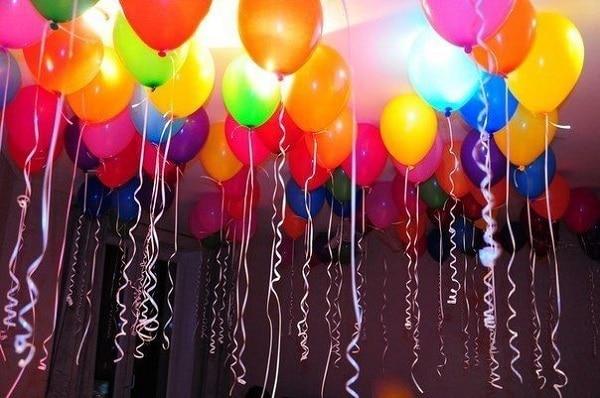 летающие шарики дома