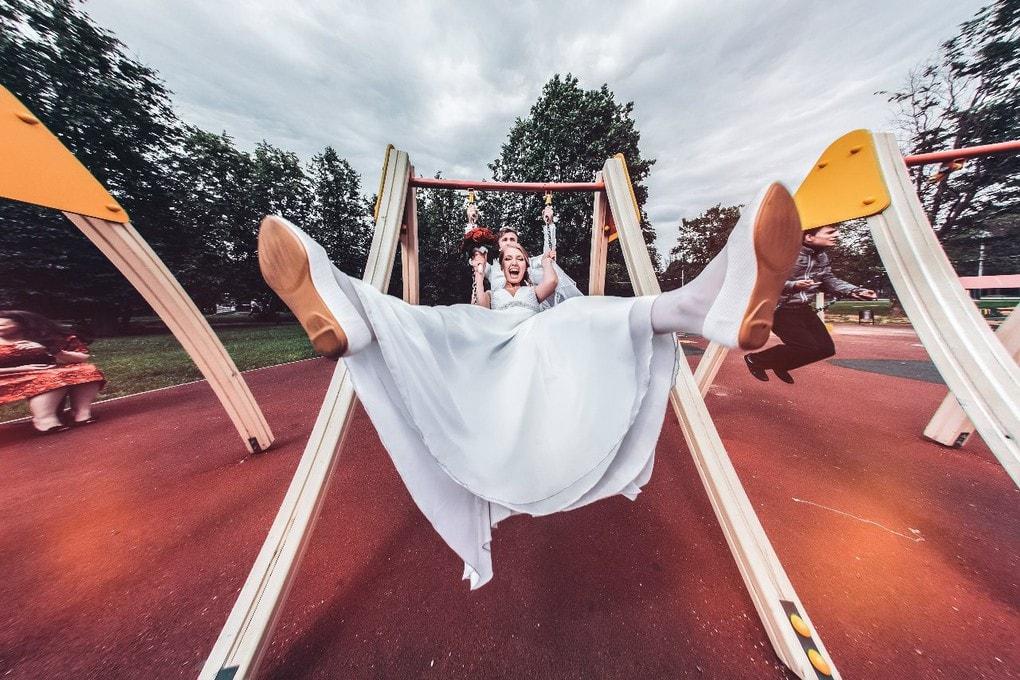Всё внимание налево свадьба, фото, юмор