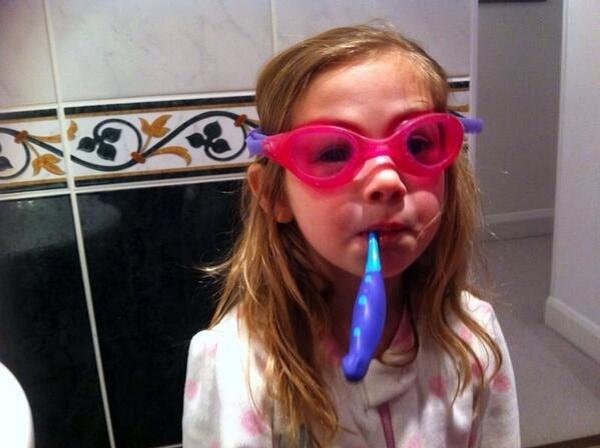 очки для ныряния