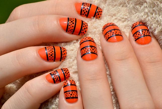 Nail-6-Orange