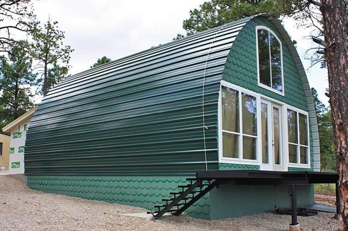 Арочный домик стоимостью $ 1000.