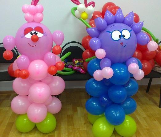 Как сделать шикарные фигурки из надувных шариков? Своими руками