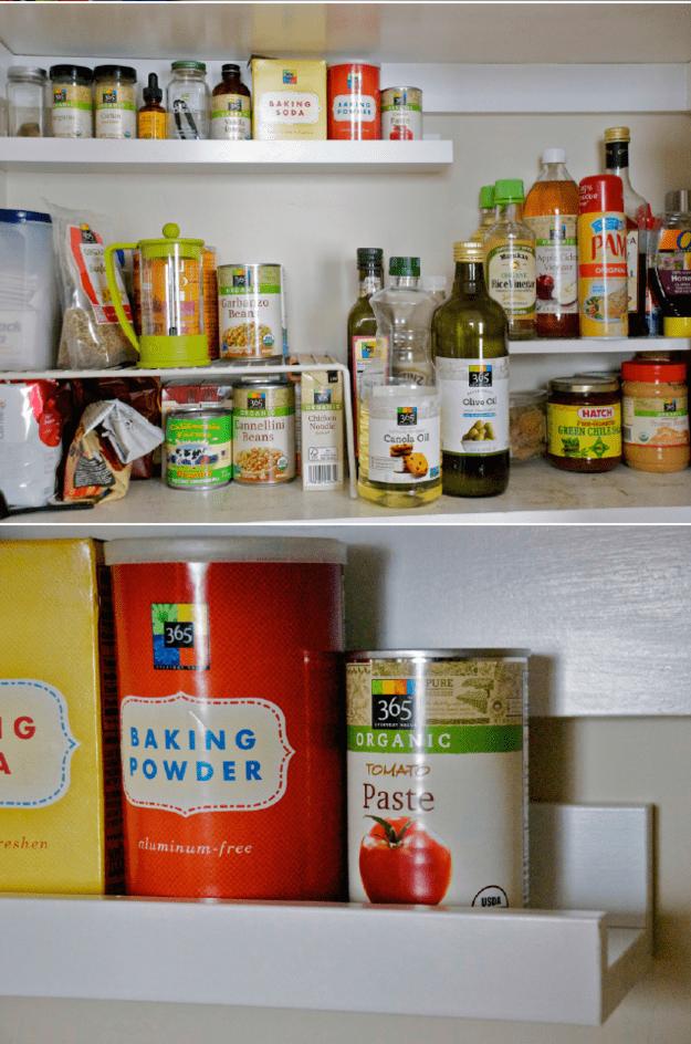 9. Установите дополнительные полочки кухня, хранения