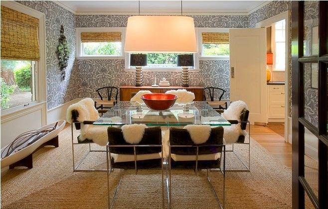 Мебель и предметы интерьера в цветах: серый, светло-серый, коричневый, бежевый. Мебель и предметы интерьера в стилях: эклектика.