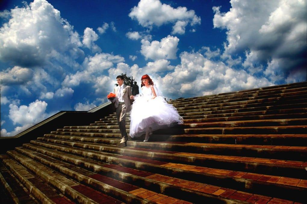 Атака облакоклонов! свадьба, фото, юмор
