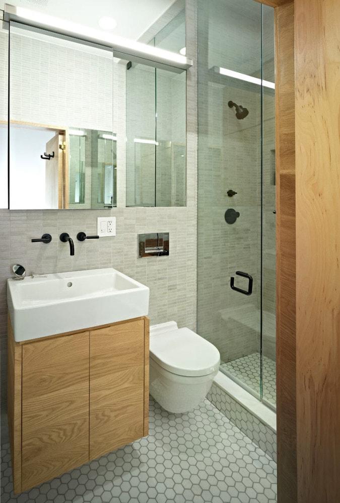Туалет в цветах: серый, светло-серый, бежевый. Туалет в .