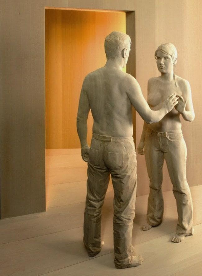 скульптуры-дерево-