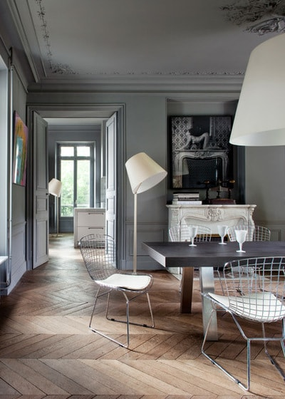 Contemporary Dining Room by Pierre Jean Verger