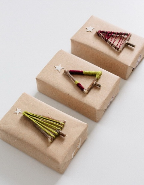 Оформление подарка своими руками