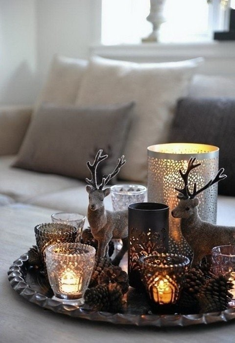 Photo: Country Style Accessories, Scandinavian, Interior Decor, Holiday, Interior Color, New Year - photos on InMyRoom.ru