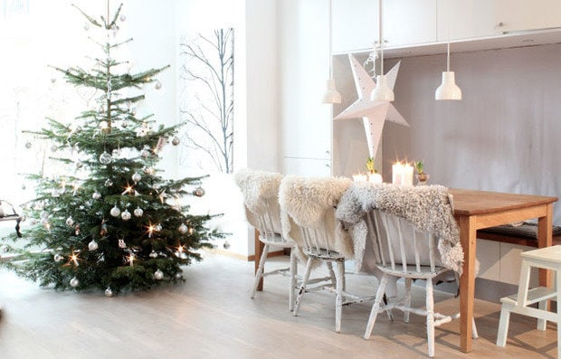 Photography: Kitchen and dining in Scandinavian style, Interior decor, Accessories, Holiday, Color in the interior, New Year - photos on InMyRoom.ru