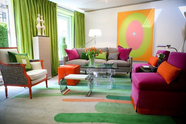 Photo: Eclectic style living room, interior decor, interior color, lifestyle, tips - photos on InMyRoom.ru