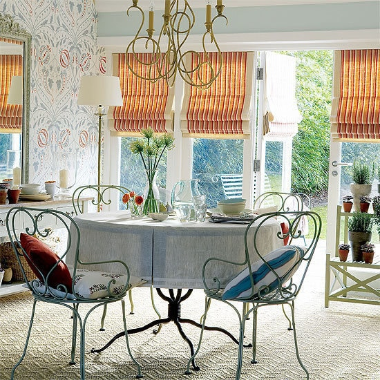 Фотография: Кухня и столовая в стиле Кантри, Декор интерьера, DIY, Текстиль, Ремонт на практике – фото на InMyRoom.ru
